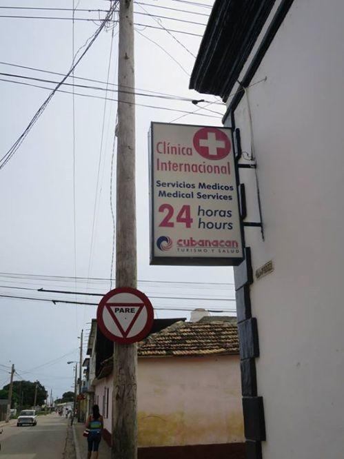 千里達的24小時診所,同樣照顧遊客。