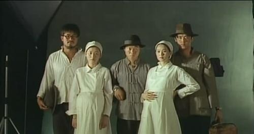 侯孝賢電影《好男好女》劇照。電影通過鍾浩東和蔣碧玉的故事,表現1990年代中台灣社會的落寞與虛無。